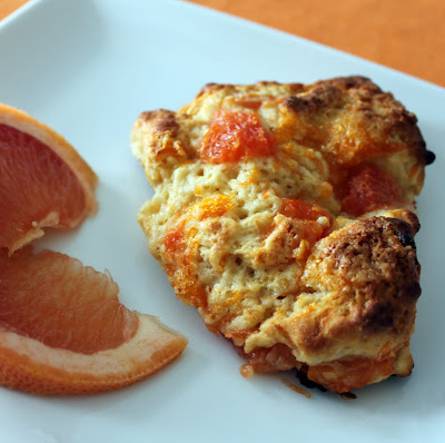 Southern Pink Lemonade: Grapefruit Honey Yogurt Scones
