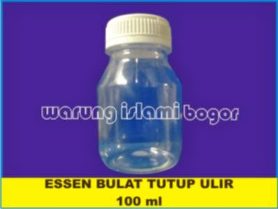 Jual Botol Garlic 100 ml Tutup Ulir