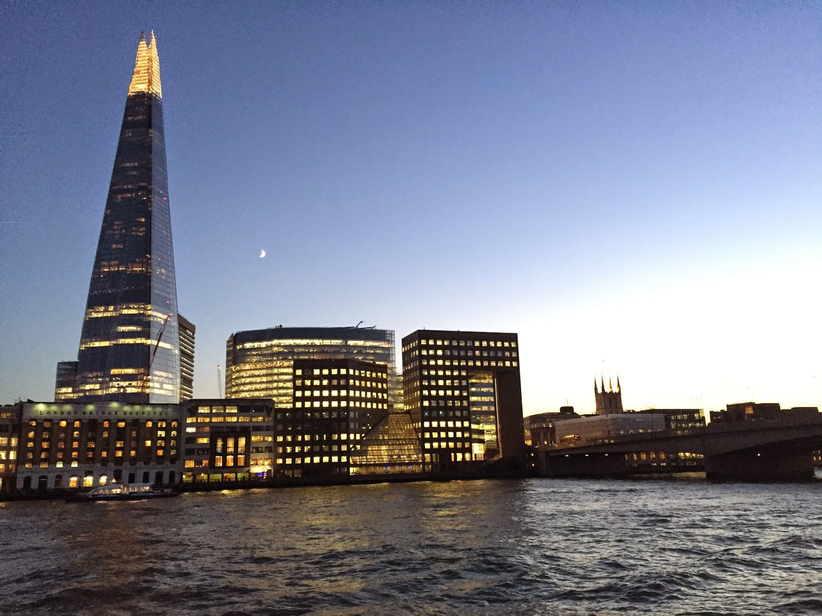 The Shard, London, England, River Thames, London Bridge, travel