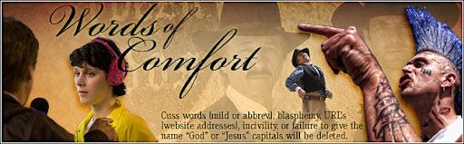 Words of Comfort  -- Ray Comfort's Blog