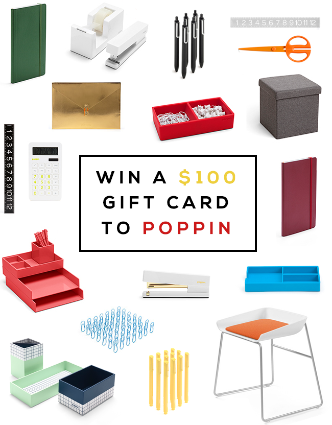 GIVEAWAY: Win a $100 Gift Card to Poppin from Bubby and Bean!