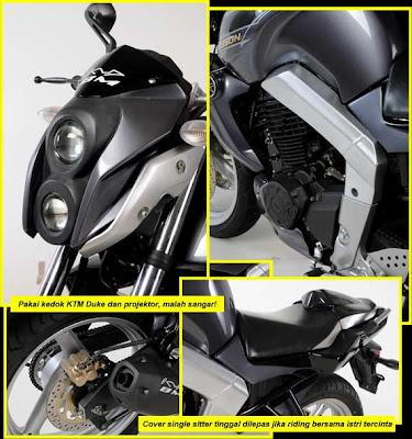 Gambar Modif Bison Dari motorplus | Oto Trendz
