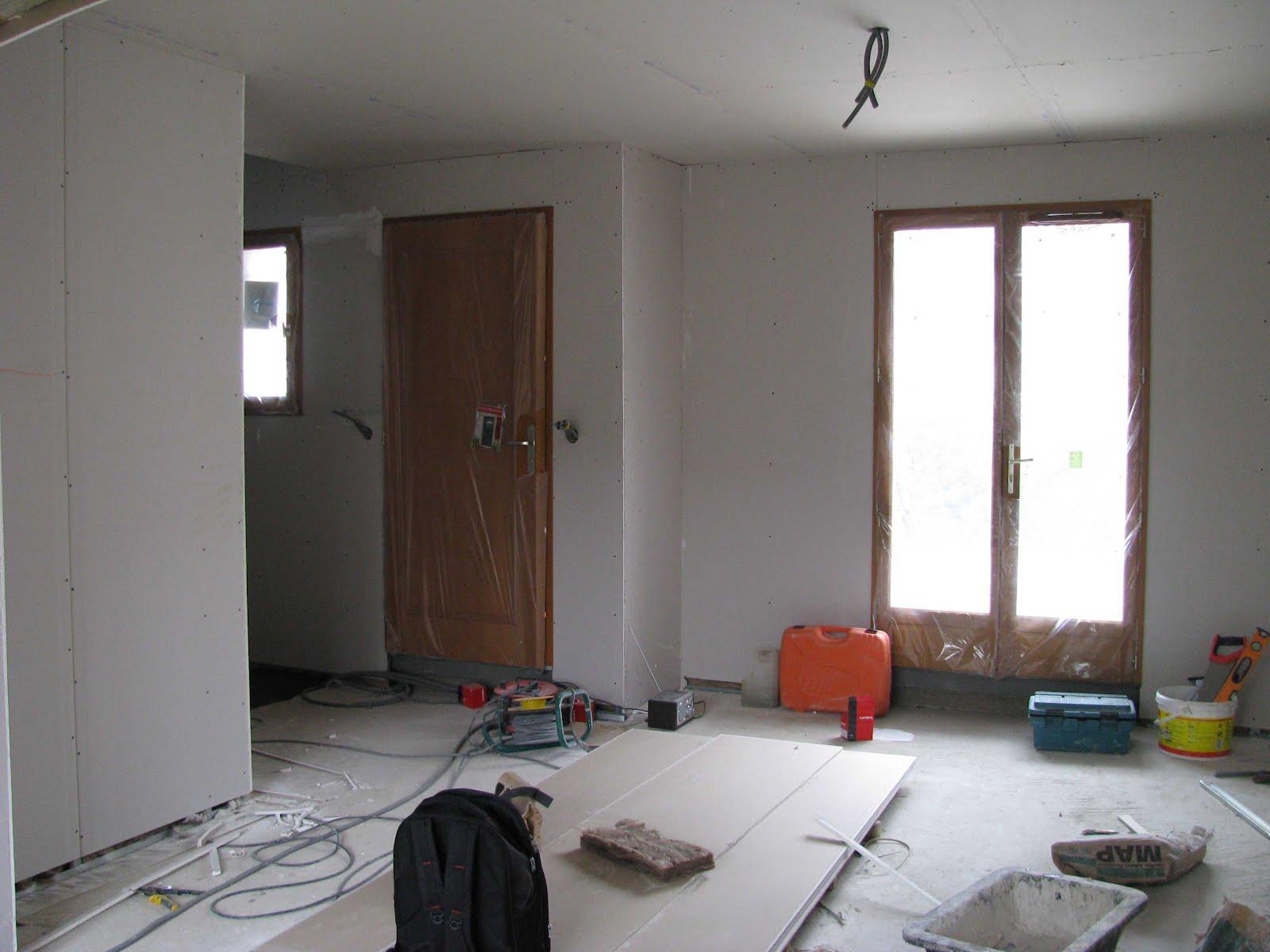 je fais construire ma maison rez de chauss e placo 6 6. Black Bedroom Furniture Sets. Home Design Ideas
