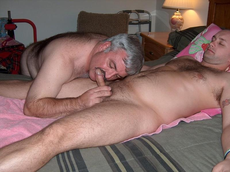 Mature gay bear sex