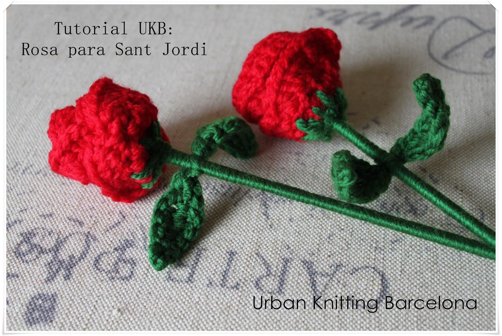 Tutorial rosa de Sant Jordi