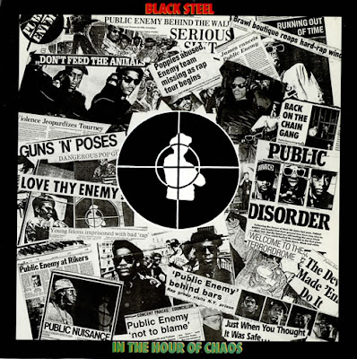 Public Enemy – Black Steel In The Hour Of Chaos (CDS Mini) (1989) (192 kbps)