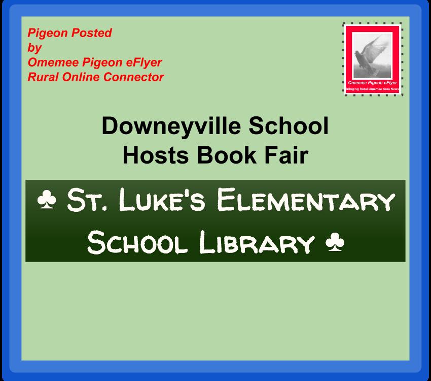 image Omemee Post : Downeyville School Hosts Book Fair St Lukes Elementary Logo