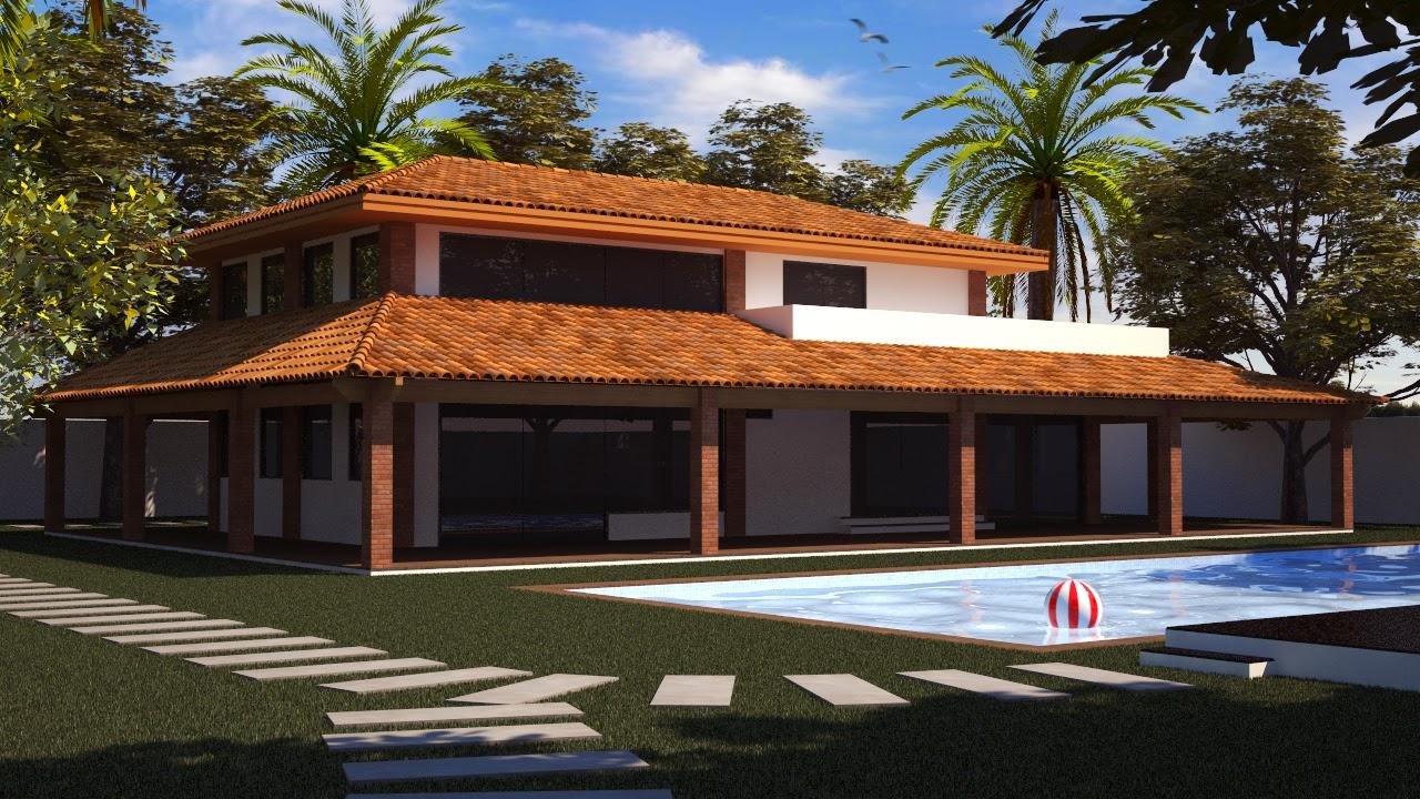 Arquitetando meus sonhos fachadas de casas de campo for Casas modernas famosas
