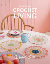 Crochet Living - A Nicki Trench book using Debbie Bliss yarns