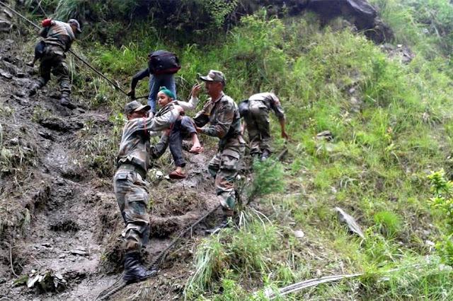 வெள்ள நிவாரணப் பணிகள்-கேதர்நாத்..படங்கள் இணைப்பு Floods.+Rescue+27.
