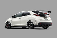 Honda Civic Type R (Mugen Concept) (2015) Rear Side