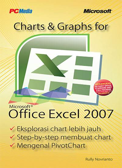 PC Media Chart and Graphs Office Excel 2007