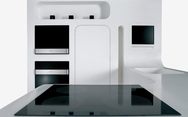 int rieur de la cuisine concept gorenje. Black Bedroom Furniture Sets. Home Design Ideas