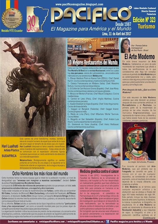 Revista Pacifico Nº 323 Turismo