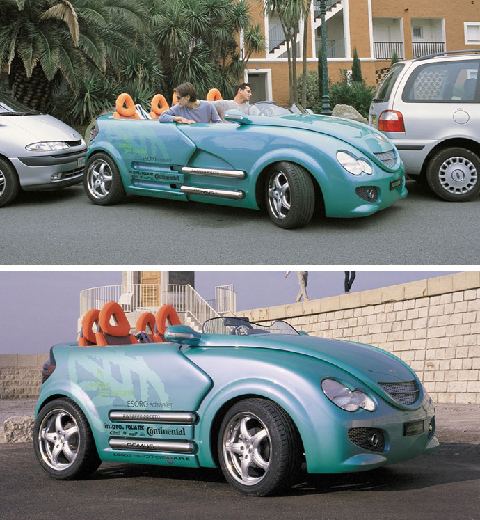 Rinspeed Presto - Collapsible Car
