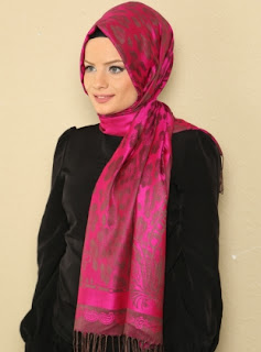 pashmina selendang turki style