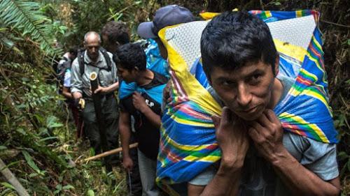 A busca de exploradores por Paititi, a cidade Inca perdida da Amazônia