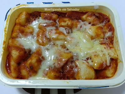Lebens Alimentos e Bebidas: Nhoque de Batata à Bolonhesa pronto para o consumo