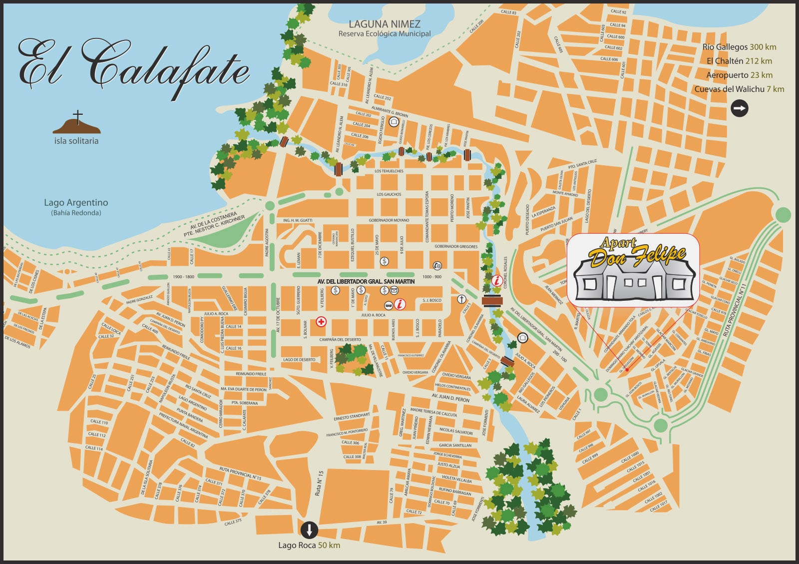 El Calafate Argentina  City pictures : Mapas de El Calafate Argentina MapasBlog