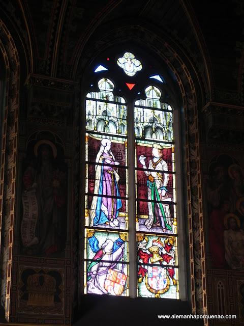 Vitrais da Basílica do Santo Sangue