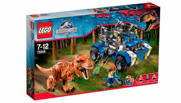 LEGO Ref. 75918 Tras el T-Rex