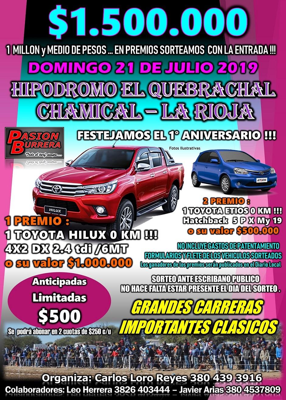 CHAMICAL - 21 DE JULIO