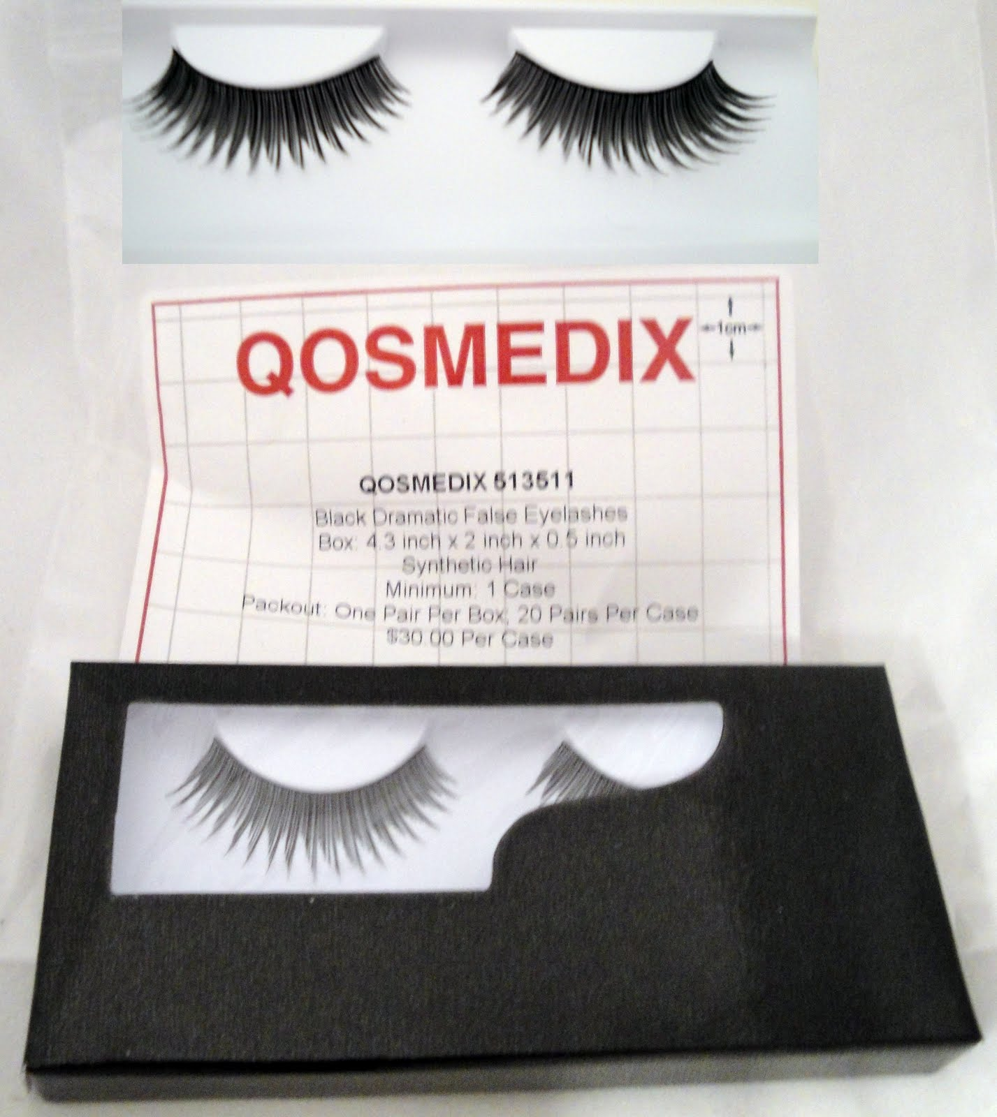 Review Qosmedix False Lashes Bulk Discounts Makeup By Renren