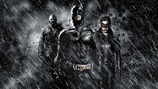 Bane Batman and Catwoman Dark Knight Rises Movie HD Wallpaper
