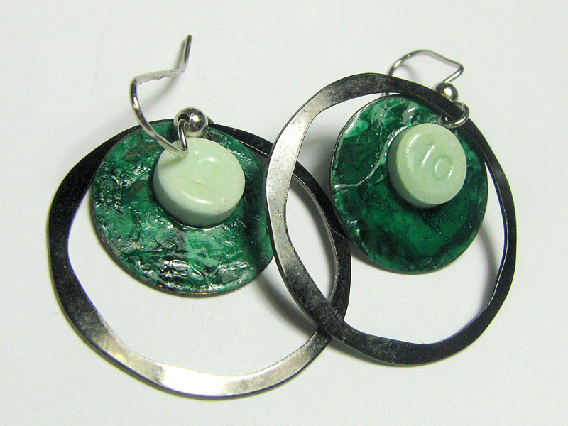 Designer Drug jewelry by Susan Braig - diazepam earrings