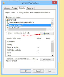 Pengaturan di Folder Xampp