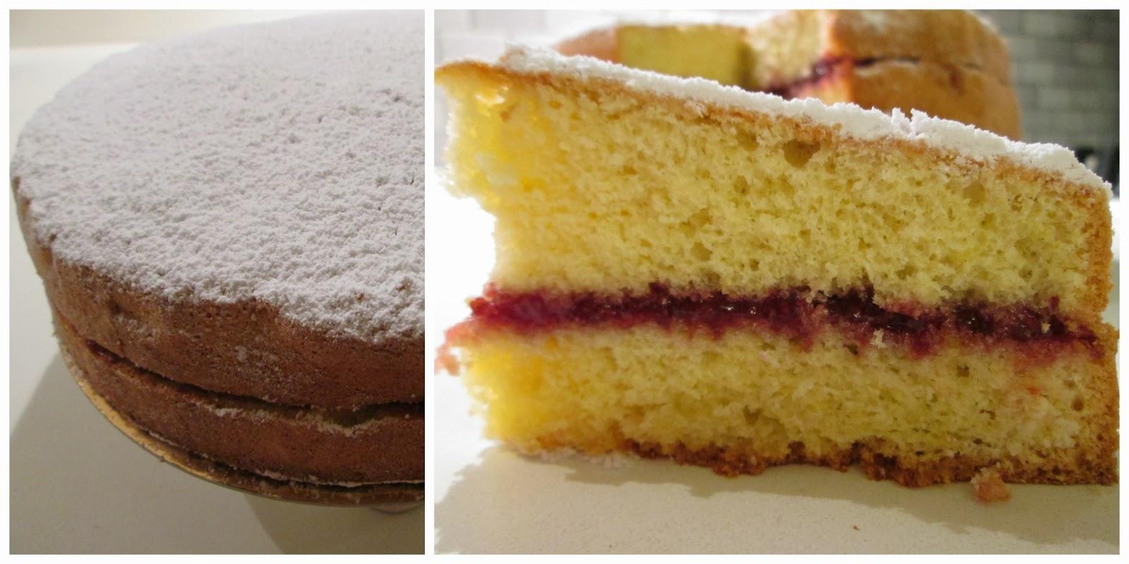 Pasticciando in cucina torta margherita con ripieno di for Isola cucina a forma di torta