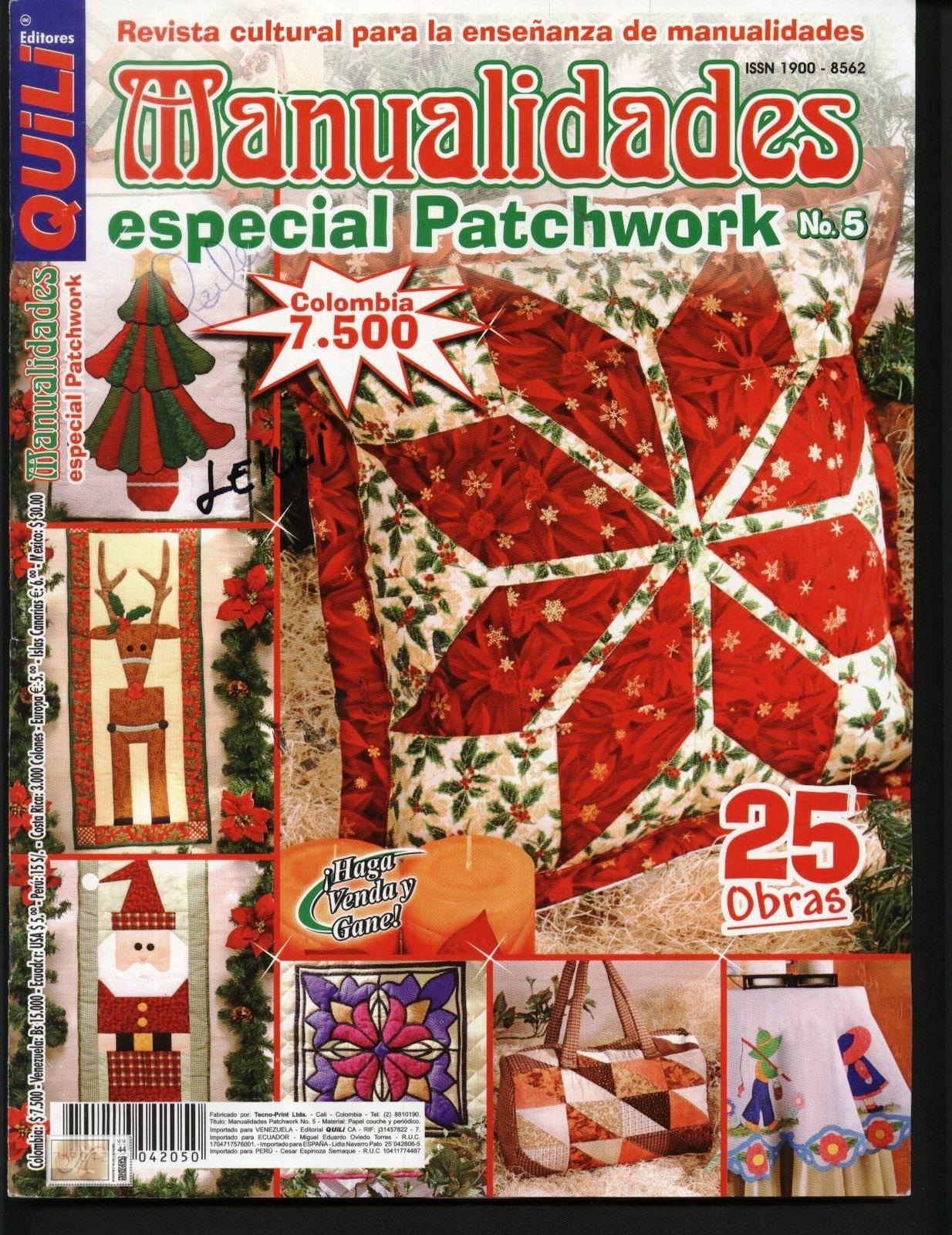 Manualidades Especial Patchwork Navidad