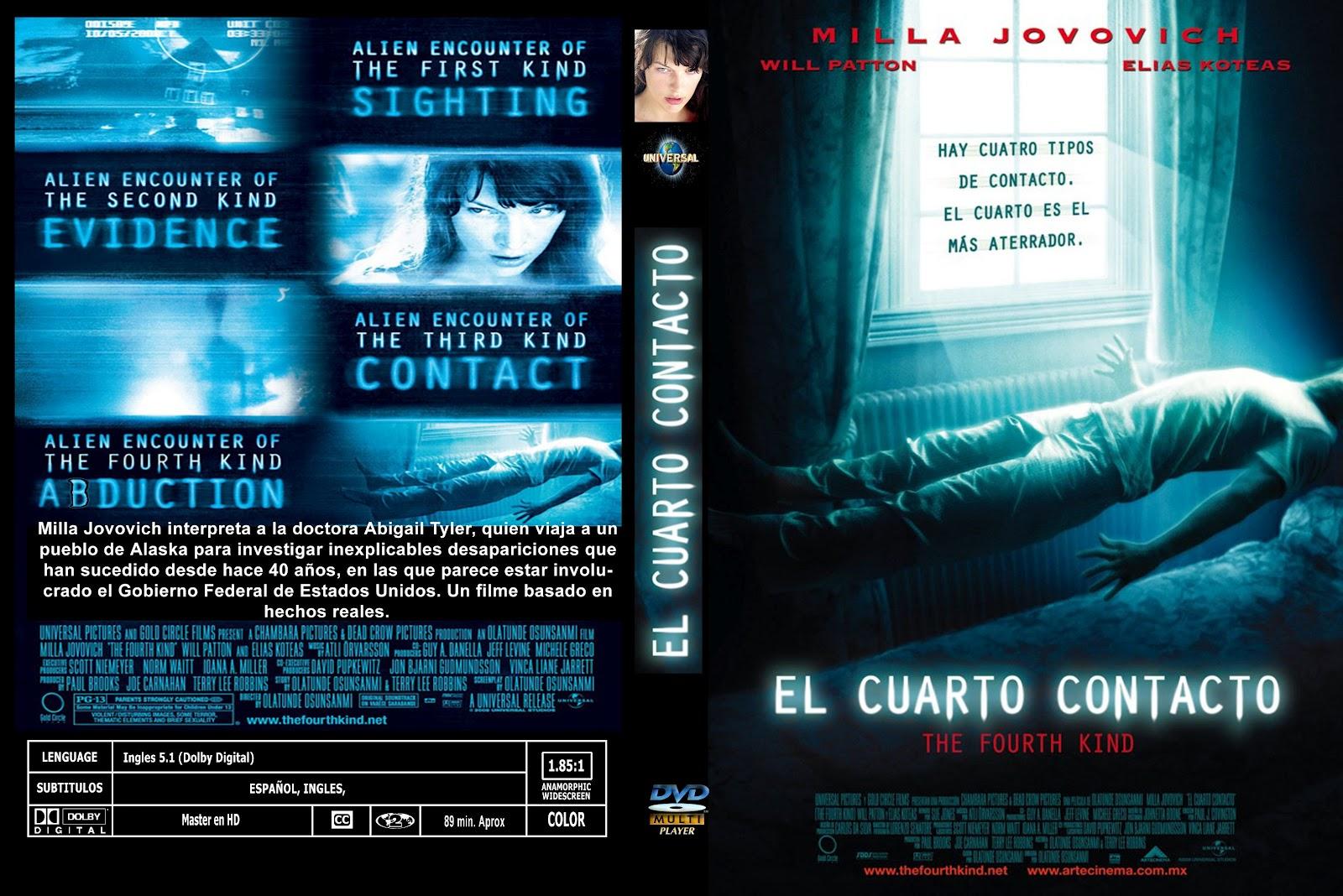 peliculas dvd full el cuarto contacto the fourth kind