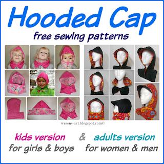 HoodedCap  wesens-art.blogspot.com