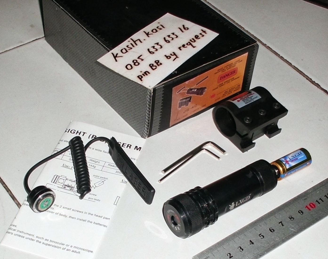 Jual laser senapan angin telescope green laser pointer jual