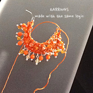 making wire crochet earrings