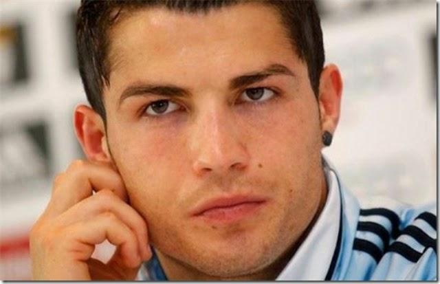 Pose gay de Cristiano Ronaldo