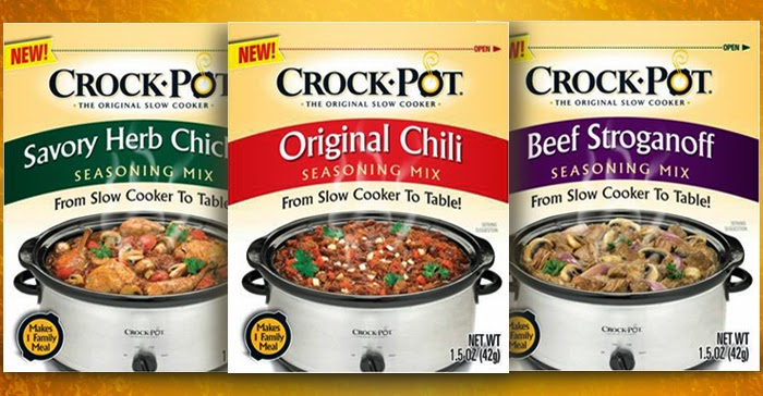 Crock-Pot Seasoning Mixes