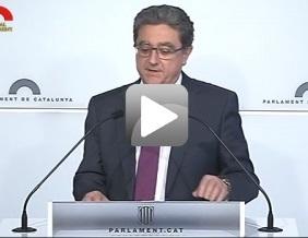 Roda de premsa valoració 100 dies de Govern de Puigdemont