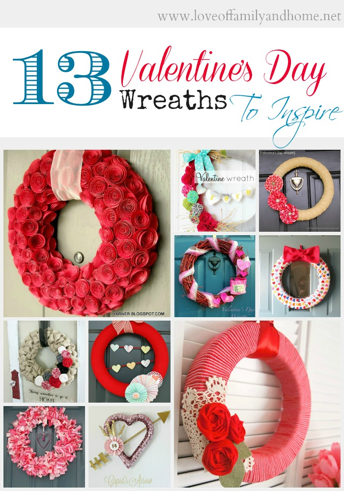 13 Valentines Day Wreaths To Inspire Love Of Family Home