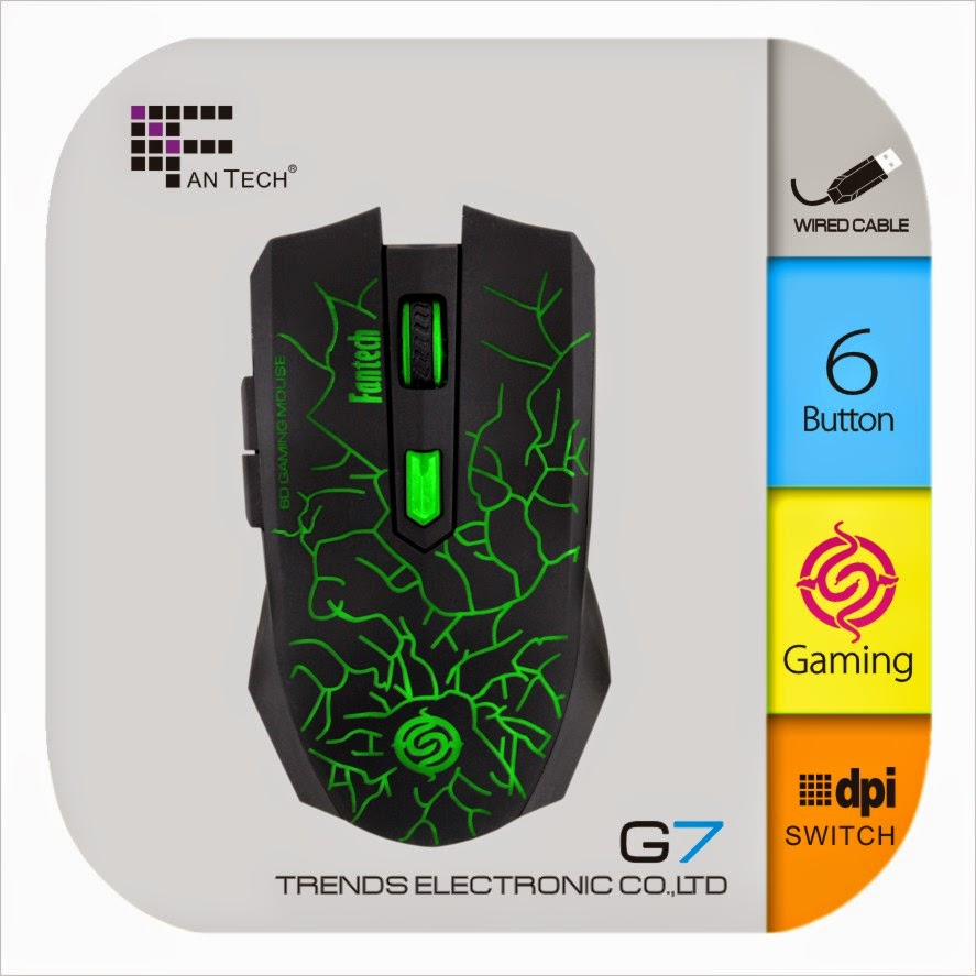 Mouse Gaming Fantech G7