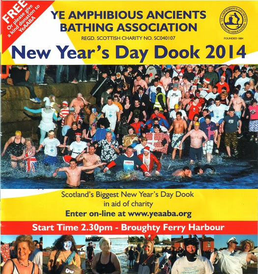 New Year's Day Dook 2014 in Broughty Ferry - Programme