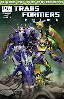 The Transformers Prime: Rage of the Dinobots #3 Cover