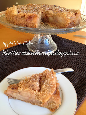 Apple Pie Cake | Addicted to Recipes