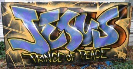 El blog de marcelo graffitis de jes s for Phrases murales