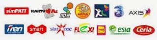 Daftar Harga Pulsa Elektrik All Operator, Pulsa Transfer dan Paket Data Internet