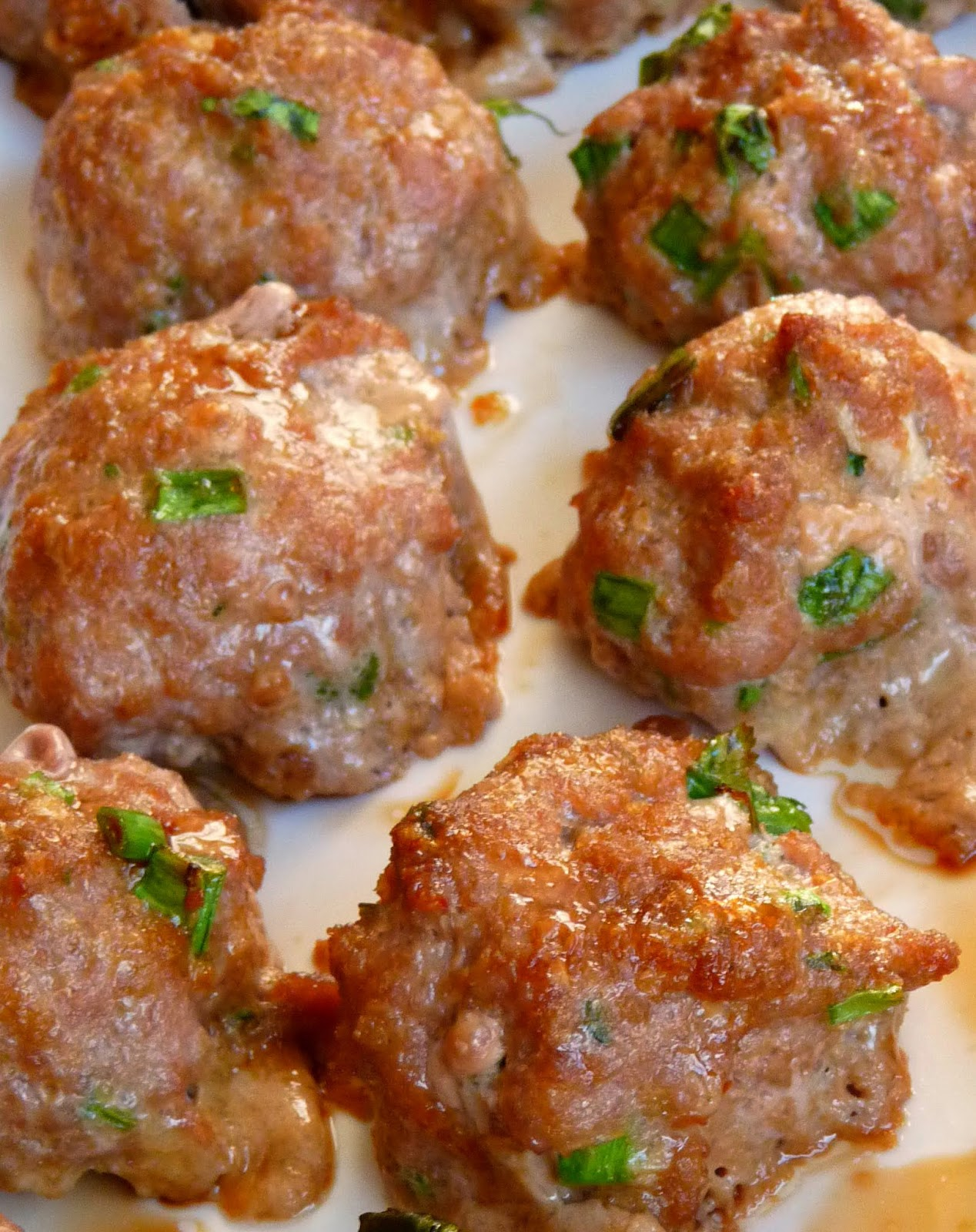 ... for Dinner?: Asian Turkey Meatballs with Lime Sesame Dipping Sauce