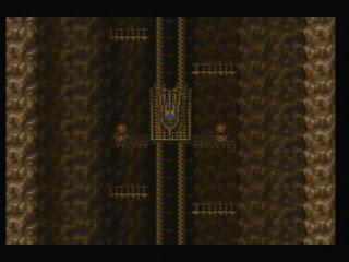 Whee, primitive elevator!