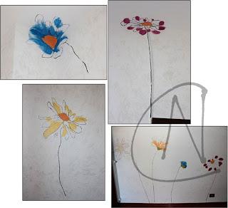 Nuove creazioni quadri e for Quadri fiori stilizzati