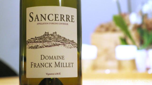 Domaine Franck Millet Sancerre 2014 - www.blancdeblancs.fi